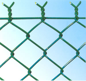Epoxy Coated Wire Mesh Temporary Fencing